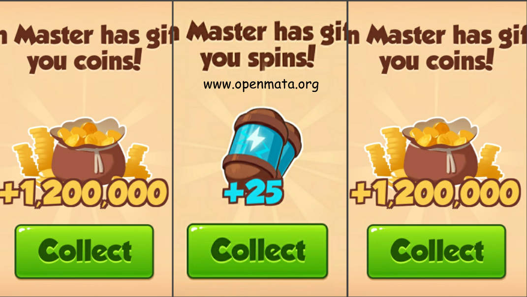 Free spins for coin master link