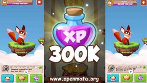 300k Xp free in coin master