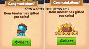Free spin wheel